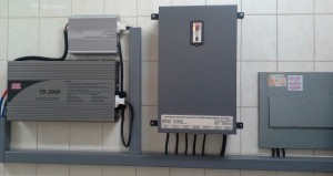 Battery Back-up with Automatic Inverter Switch-over System